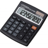 Калькулятор бухгалтерский Citizen SDC-810BN черный 10-разр. %