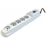 Фильтр питания Pilot-GL 1.8м (6 розеток) белый