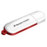 Флэш-диск 16Gb Silicon Power LUX mini 320 White