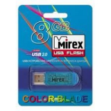 Флэш-диск 8Gb Mirex Elf Blue