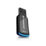 Флэш-диск 8Gb Transcend Jetflash 360 USB 2.0 (TS8GJF360) черный/синий