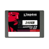 "Жесткий диск SSD 2.5"" SATA III 240Gb Kingston SSDNow V300 (7 мм, MLC, R450Mb/W450Mb, R85K IOPS/W43K IOPS, 1M MTBF) (SV300S37A/240G)"