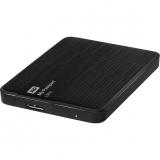 """Жесткий диск внешний 2.5"""" 1Tb WD (USB 3.0) WDBJNZ0010BBK My Passport Ultra Black"""