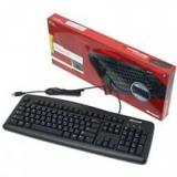 Клавиатура Microsoft Wired 200 (JWD-00002) USB (черная)