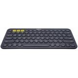 Клавиатура Logitech K380 Multi-Device Bluetooth Keyboard темно-серая (920-007584)