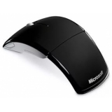 Мышь Microsoft Arc Mouse Black беспроводная USB RTL (ZJA-00065)