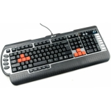 Клавиатура A4-Tech G800V черный USB Multimedia Gamer(G800V)