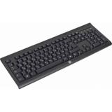 Клавиатура HP K2500 черный USB беспроводная Multimedia(E5E78AA)