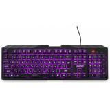 Клавиатура Jet.A BasicLine K15 LED проводная с классической раскладкой и светодиодной подсветкой чёрная USB