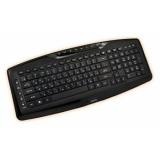 Клавиатура Jet.A SlimLine K17 проводная мультимедийная с 14 клавишами быстрого доступа черная USB
