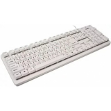 Клавиатура Sven Standard 301 белая USB (SV-03100301UW)