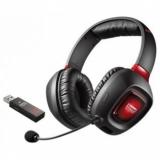 Наушники Creative TACTIC3D RAGE WIRELESS V2.0  с микрофоном черные беспроводные