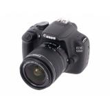 "Фотоаппарат Canon EOS 1200D KIT черный 18Mpix 18-55mm f/3.5-5.6 III 3"" 1080p Full HD SDXC Li-ion (с объективом) (9127B009)"