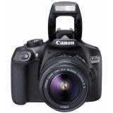 """Фотоаппарат Canon EOS 1300D KIT черный 18Mpix 18-55mm f/3.5-5.6 III 3"""" 1080p Full HD SDXC Li-ion (с объективом) (1160C005)"""