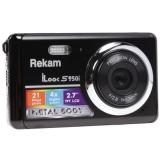 """Фотоаппарат Rekam iLook S955i черный 21Mpix 2.7"""" 720p SDHC/MMC CMOS/Li-Ion"""