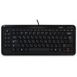 Клавиатура Jet.A SlimLine K18 проводная ультракомпактная с ноутбучной раскладкой и 9 клавишами быстрого доступа черная USB