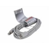 Кабель USB 2.0 AM/BM 3 м серый (Hama) (29100)