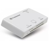 Кардридер USB Transcend TS-RDP8W 13-in-1, белый