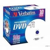 Диск DVD-R Verbatim 4.7Gb 16x 10шт Photo Printable