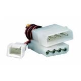 Переходник питания Molex/3pin(вентилятор)+Molex