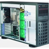"Серверная платформа SuperMicro SYS-7048R-TR 2CPU max (S-2011v3)/Tower (4U)/16*DDR4 (up to 1Tb)/8x3.5"" Hot-swap HDDs/2(2) 920W redudant Platinum PS"