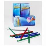 Пружина пластиковая для переплета Office Kit 10мм (на 51-70 листов) белая (100шт) (BP2021)