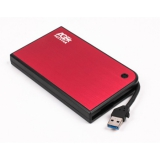 "Корпус внешний для HDD 2.5"" AgeStar 3UB2A14 SATA USB 3.0 Red"
