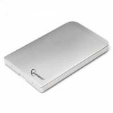 "Корпус внешний для HDD 2.5"" Gembird EE2-U2S-41-S, SATA, USB 2.0, серебро (металический корпус)"