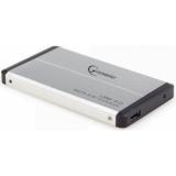 "Корпус внешний для HDD 2.5"" Gembird EE2-U3S-2-S, SATA, USB 3.0, серебро (металический корпус)"