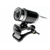Камера Ritmix RVC-007M 640x480x30fps, микрофон, серебро