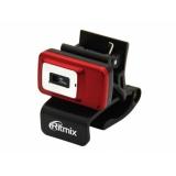 Камера Ritmix RVC-053M HD720p 24 Мп,1280x720, микрофон, стеклянная линза