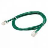 Патч-корд UTP Cat.5e литой 1.5м зеленый (Gembird PP12e-1.5M/G)