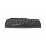 Клавиатура Genius KB-110 PS/2 black, color box
