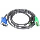 Кабель для переключателя ATEN 2L-5205U 4.5 м, USB+VGA
