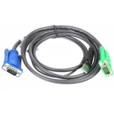 Кабель для переключателя ATEN 2L-5206UP 6 м, USB+VGA