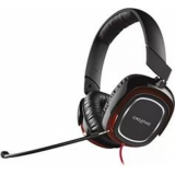 Наушники Creative HS 880 Draco (с микрофоном, кабель 2.5м) черные/красные