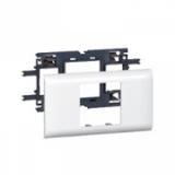 Рамка 2 мод д/крышки 65мм (LEG-10921)
