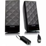 Колонки Microlab B53 (2.0) 2x1.5Вт пультДУ,черные, USB