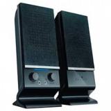 Колонки Oklick OK-115U (2.0) 2x3Вт, пластик, черные, питание USB