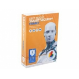 ПО Антивирус NOD32 Smart Security Family 5ПК 1 год BOX (NOD32-ESM-NS(BOX)-1-5)