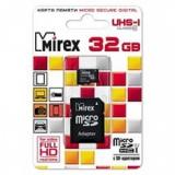 Карта памяти microSD 32Gb Mirex Class 10 UHS-I без адаптера (13612-MCSUHS32)