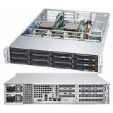 "Серверная платформа SuperMicro SYS-6028R-TRT 2CPU (only E5-26xxV3 series) max (S-2011)/2U/16*DDR4 (up to 1Tb)/8x3.5"" Hot-swap SATA HDDs/2(2) 740W redudant Platinum PS"