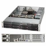"Серверная платформа SuperMicro SYS-6028R-WTR 2CPU (only E5-26xxV3 series) max (S-2011)/2U/16*DDR4 (up to 1Tb)/8x3.5"" Hot-swap SATA HDDs/2(2) 740W redudant Platinum PS"