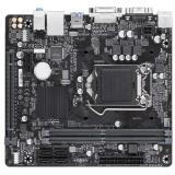 Материнская плата Gigabyte H310M S2V 2.0 (RTL) S-1151-v2 H310 2xDDR4 PCI-E x16/PCI-E x1 4xSATA III PS/2/D-sub/DVI-D/4xUSB 2.0/2xUSB 3.1G1/GLAN/3 audio jacks mATX