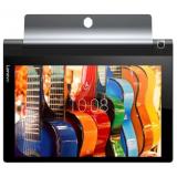 "Планшет Lenovo Yoga Tablet 3 YT3-X50 MSM8909 (1.3) 4C/RAM2Gb/ROM16Gb 10.1"" IPS 1280x800/3G/4G/Android 5.1/черный/8Mpix/BT/GPS/WiFi/Touch/microSD 128Gb/minUSB/8400mAh/18hr(ZA0K0021RU)"