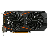 Видеоадаптер PCI-E Gigabyte GeForce GTX1060 6144Mb GV-N1060WF2OC-6GD (RTL) GDDR5 192bit 2xDVI-D/HDMI/DP