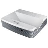 Проектор Optoma W320USTi DLP (1280x800)WXGA, 4000 ANSI, 20000:1,Интерактивный, 2xHDMI, 2xVGA, Composite, USB (B), +12В триггер, 3D Sync, RS-232, RJ45, Full 3D Ультракороткофокусный