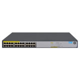 Сетевой коммутатор HP 1420-24G-PoE+ (124W) Switch (Unmanaged, 12*10/100/1000 PoE+, 12*10/100/1000, 124W,  2 SFP+, QoS, fanless, 19'') (JH019A#ABB)
