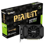Видеоадаптер PCI-E Palit GeForce GTX1050 2048Mb PA-GTX1050 StormX 2G (OEM) GDDR5 128bit DVI-D/HDMI/DP