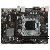 Материнская плата MSI H110M PRO-D (RTL) S-1151 H110 2xDDR4 PCI-E x16/2xPCI-E x1 4xSATA III PS/2/DVI-D/4xUSB 2.0/2xUSB 3.1G1/GLAN/3 audio jacks mATX